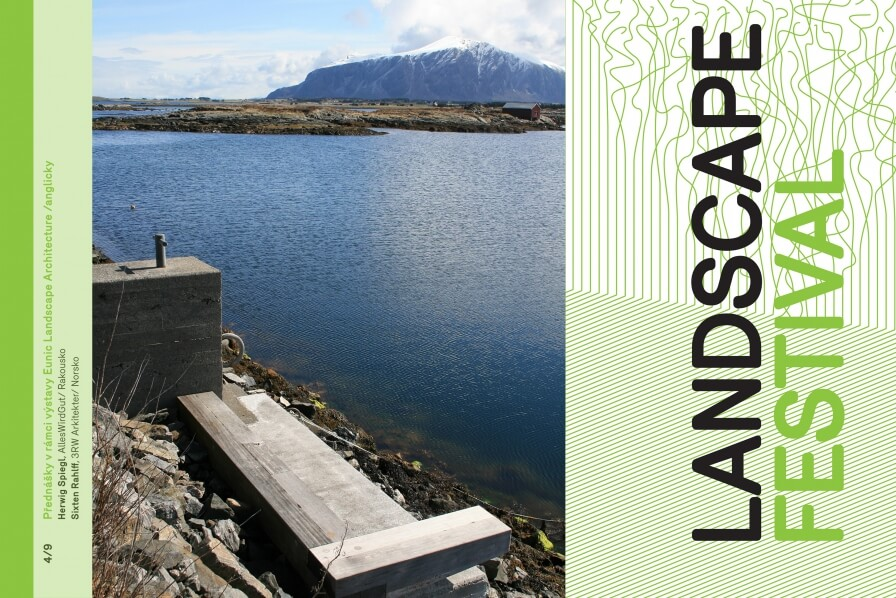 Sixten Rahlff is giving a lecture at the Prague Landscape Festival, September 4th!