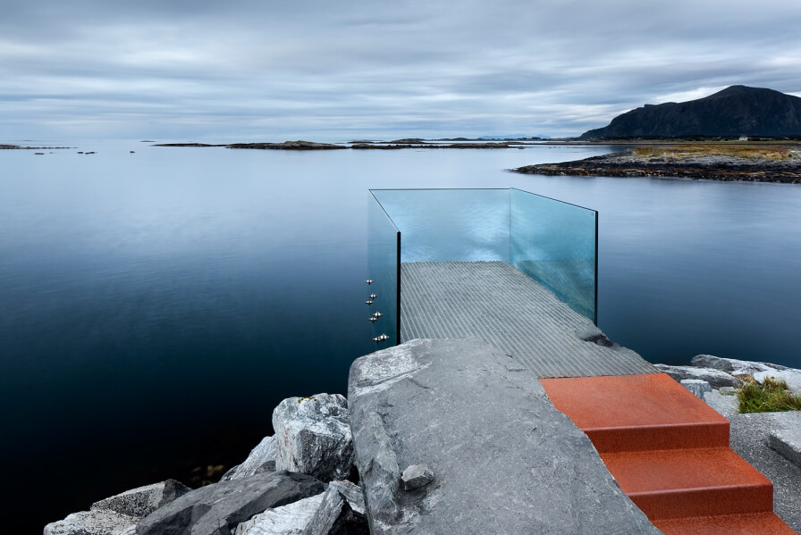 "3RWs ""Viewpoint Askvågen"" featured in Ken Schluchtmann's photo book – ""Architecture and Landscape in Norway""!"