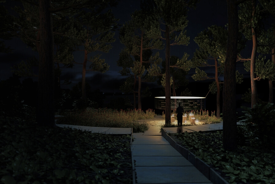 3RW wins the competition to design memorial on Utøya.