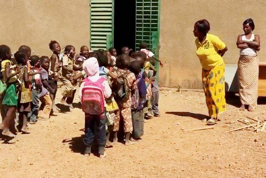 3RW designing  elementary School in Burkina Faso