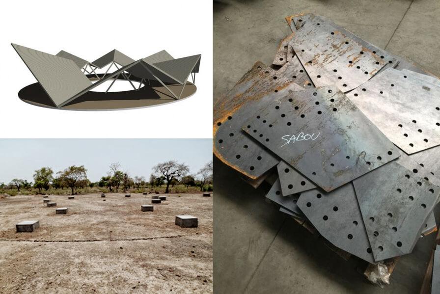 The school in Burkino Faso are in the weld!