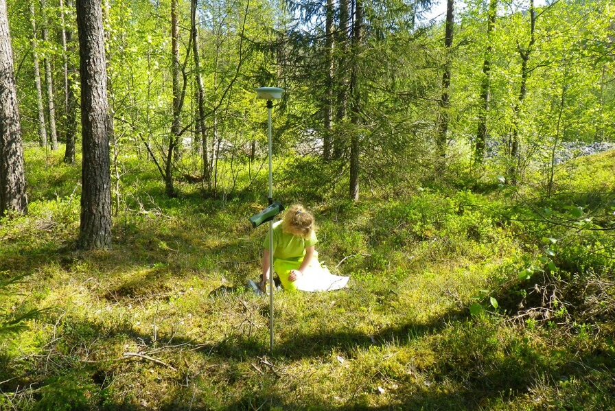 Ongoing environmental investigations at Bømoen.