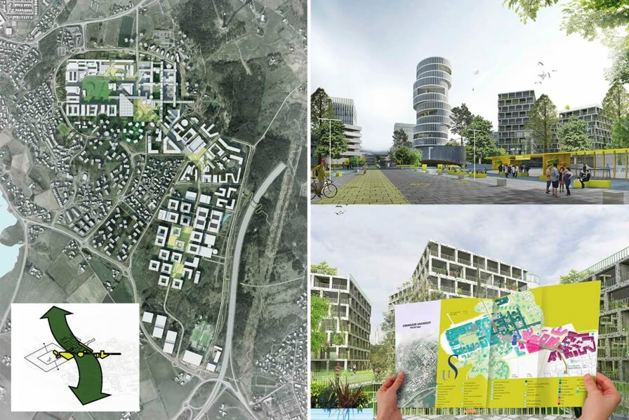 The plan for Ullandhaug campus is delivered. Very interesting study and very good feedback!