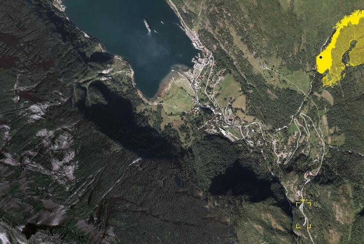 Image for Rest-stop Flydalsjuvet