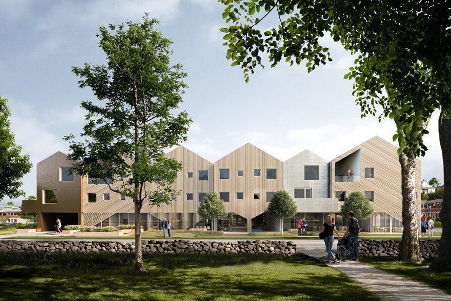 3RW arkitekter and NORD Architects prequalified for 'Furuset Hageby' competition