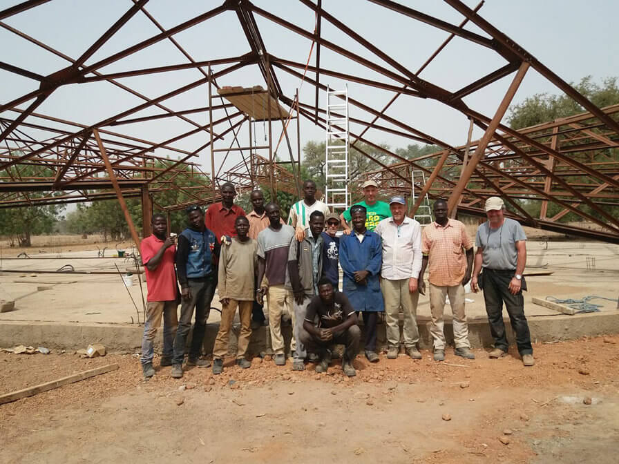 Construction under way for 3RW-designed school in Burkina Faso