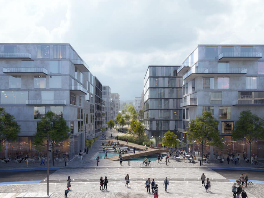 Study for Frysja neighbourhood in Oslo published