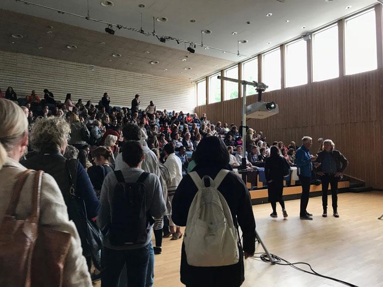 Allmøte om ny skole og introduksjonssenter på Landås