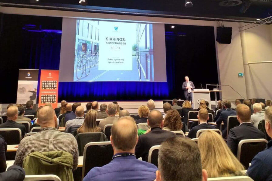 We are talking at this year's Security Conference organised by the Ministry of Defense in Oslo