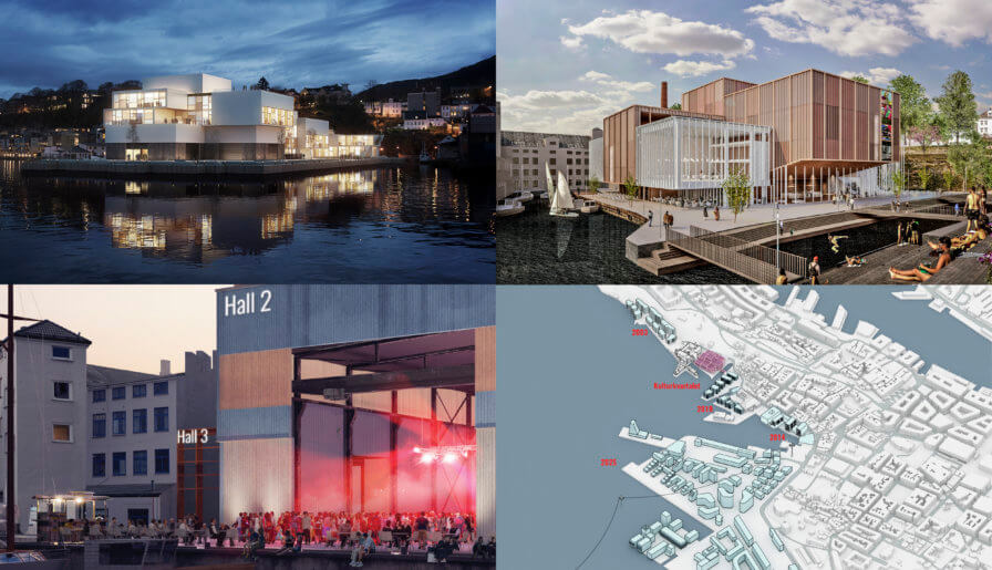 Bergen's city council approves a future culture house on the USF Verftet site