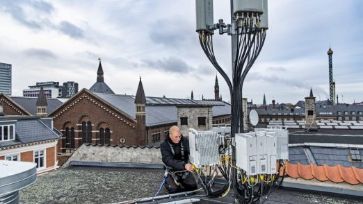 3 ruller 5G ud i Danmark til december