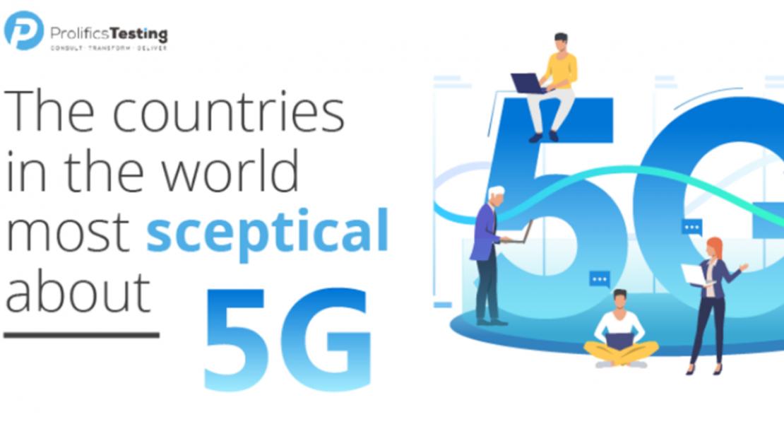Danmark blandt de mindst skeptiske 5G-lande