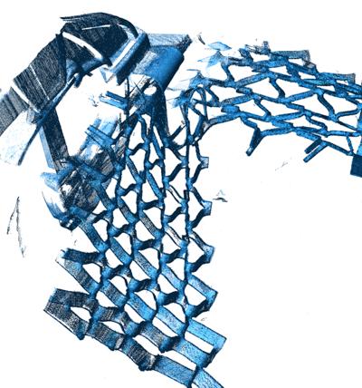 Eksempel på 3D-scanning med Faro Edge Arm og Laser Line Probe HD.
