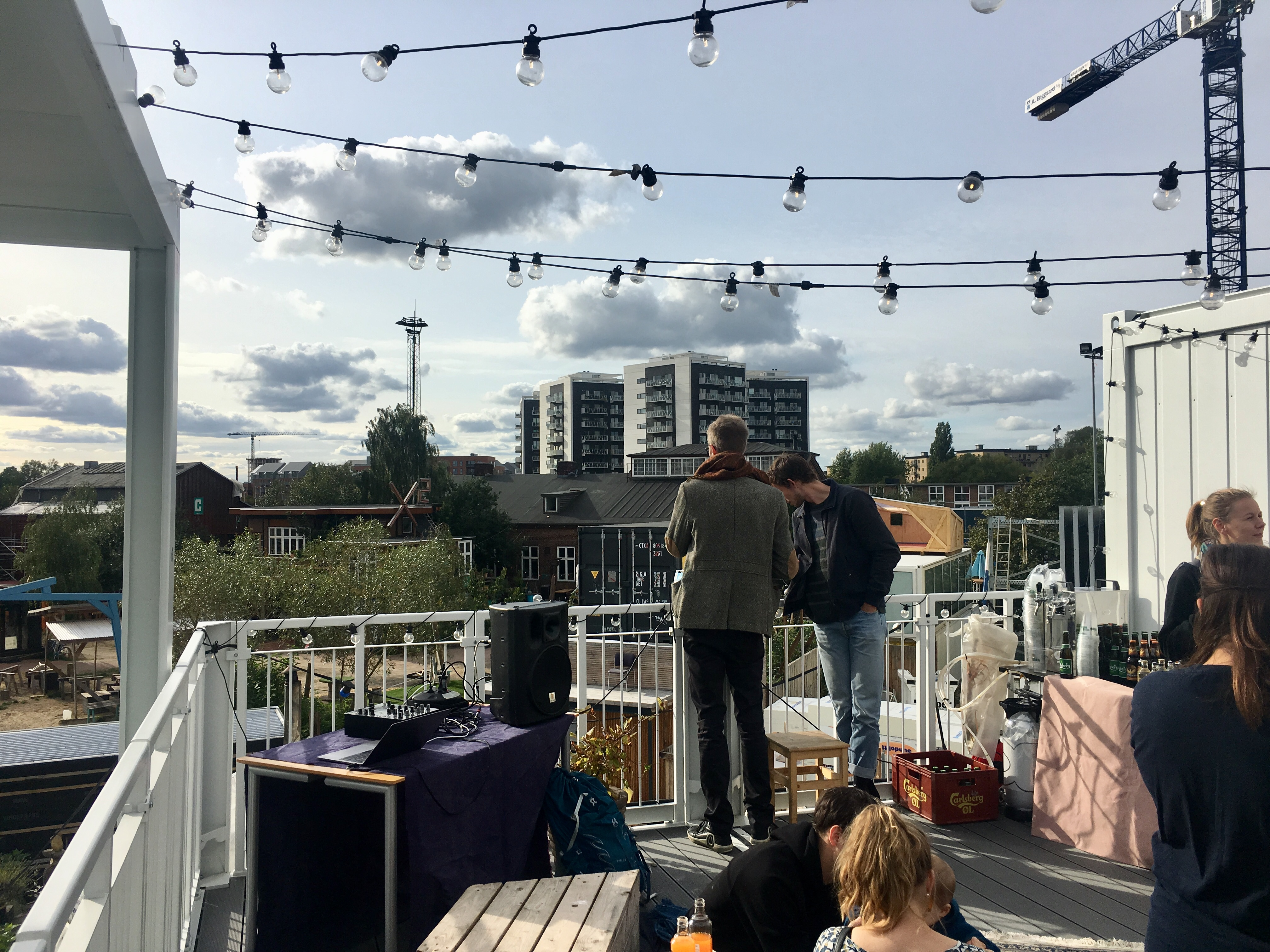 The New Neighbour rooftop terrace