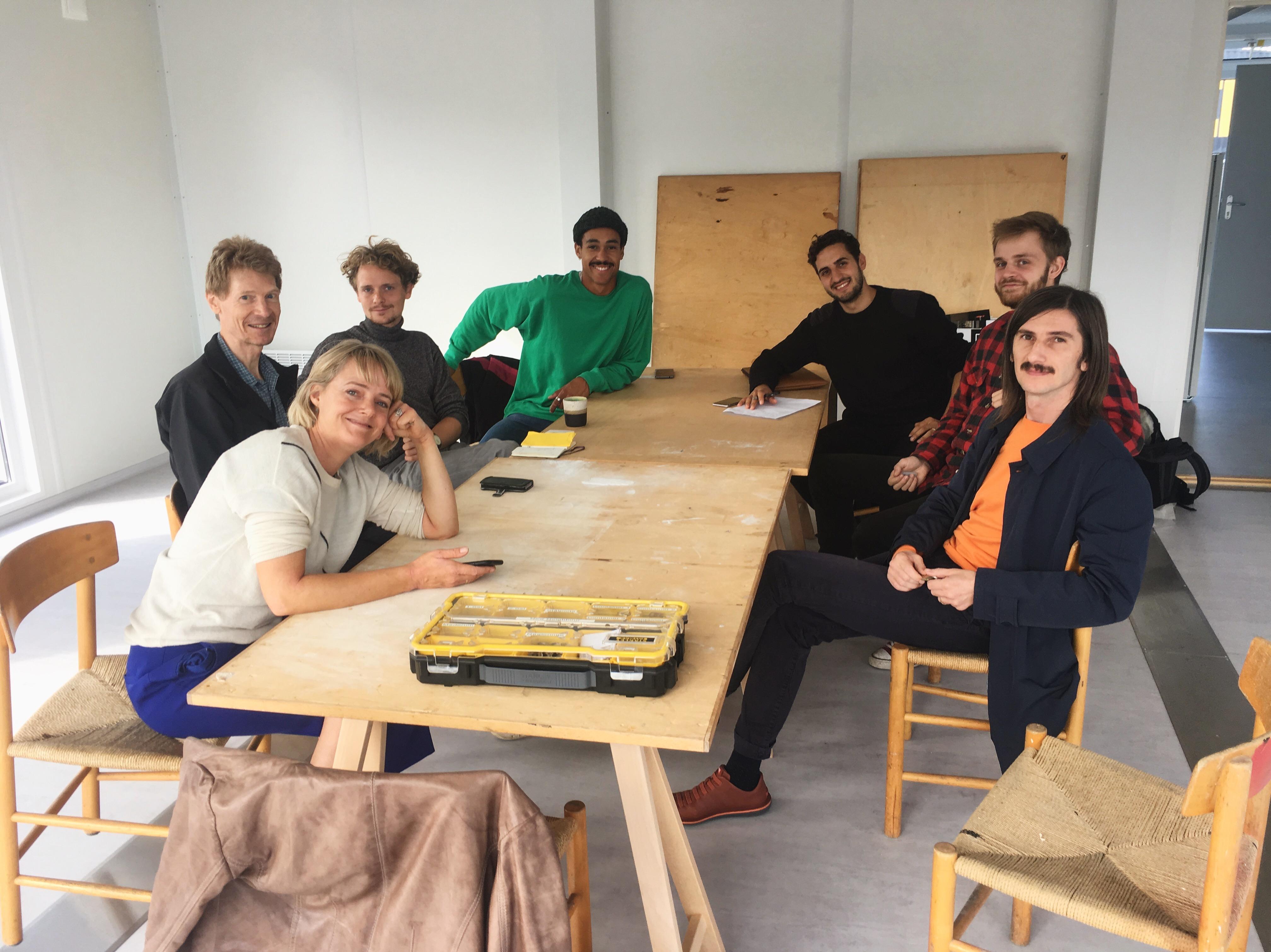 The New Neighbour office community, comprising Dearstudio ApS, Sociale Entreprenører i Danmark, Det Turkise Telt and Office U67