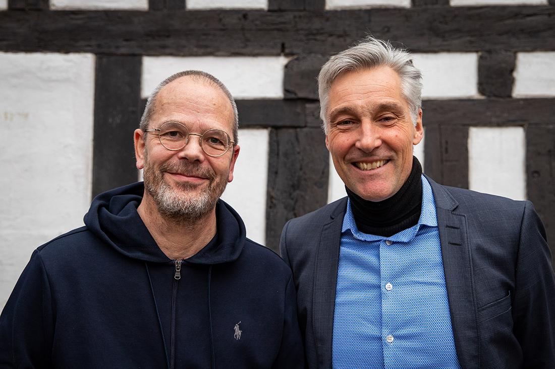 Torben Nielsen (left) with Carsten With Thygesen