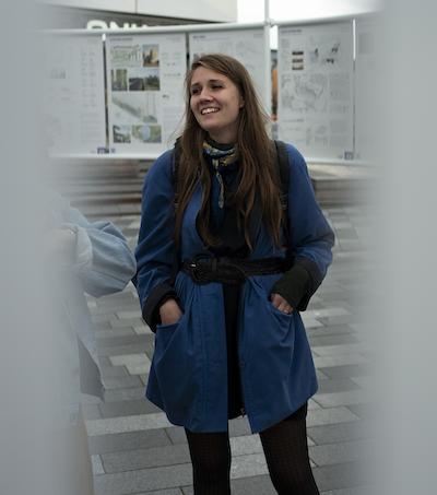 Arkitektstuderende Anne-Sofie i Middelfart