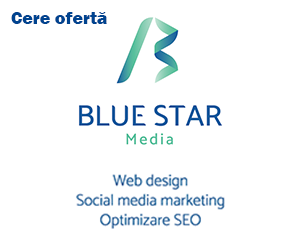 Blue Star Media Arad servicii web design SEO si Social Media Marketing