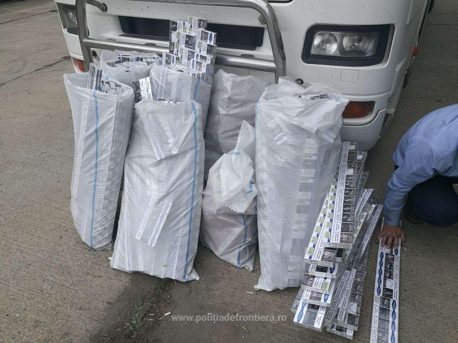 Politia de frontiera a confiscat tigari de contrabanda ascunse in rezervor accidentelive.jpeg