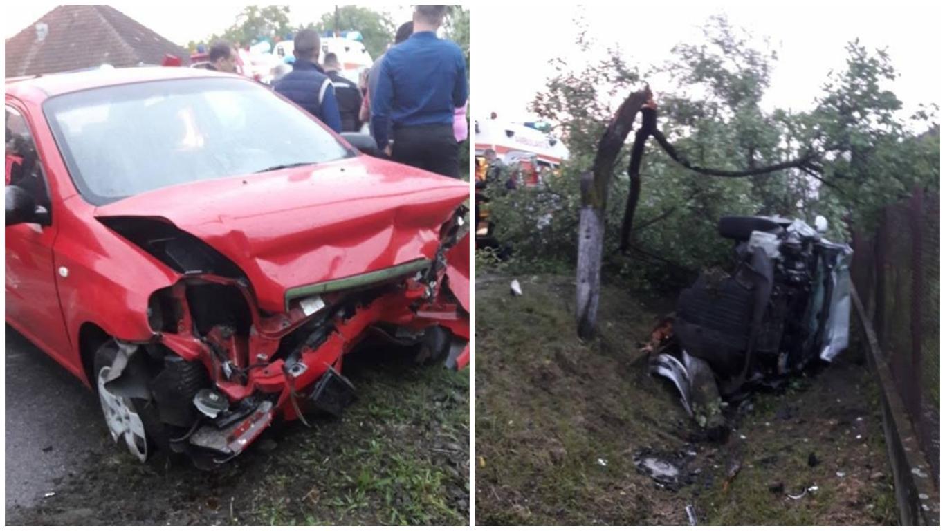 Accident cu o victimă în comă la Julița, în Arad
