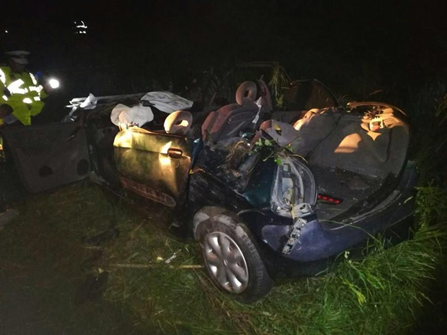 Cinci persoane decedate in urma unui accident de circulatie in Timis. Un copil a supravietuit