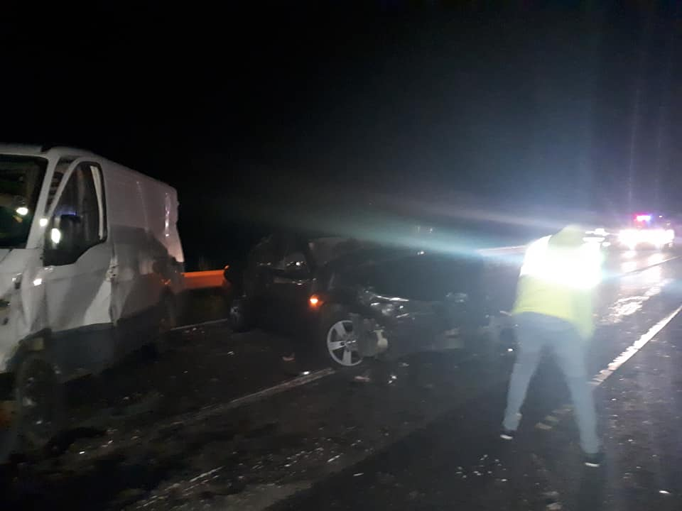 Accident frontal DEVA ILIA accidentelive romania