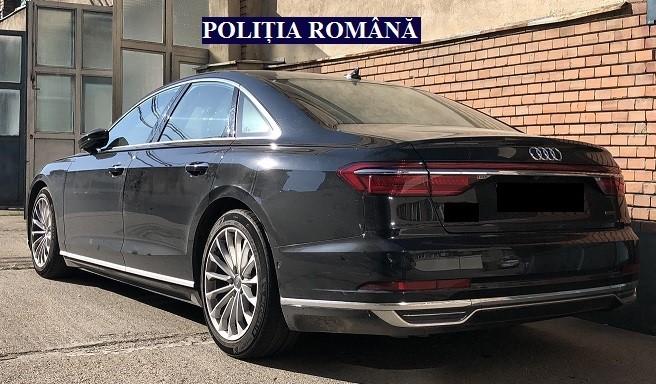 Audi furat in anglia depistat in romania