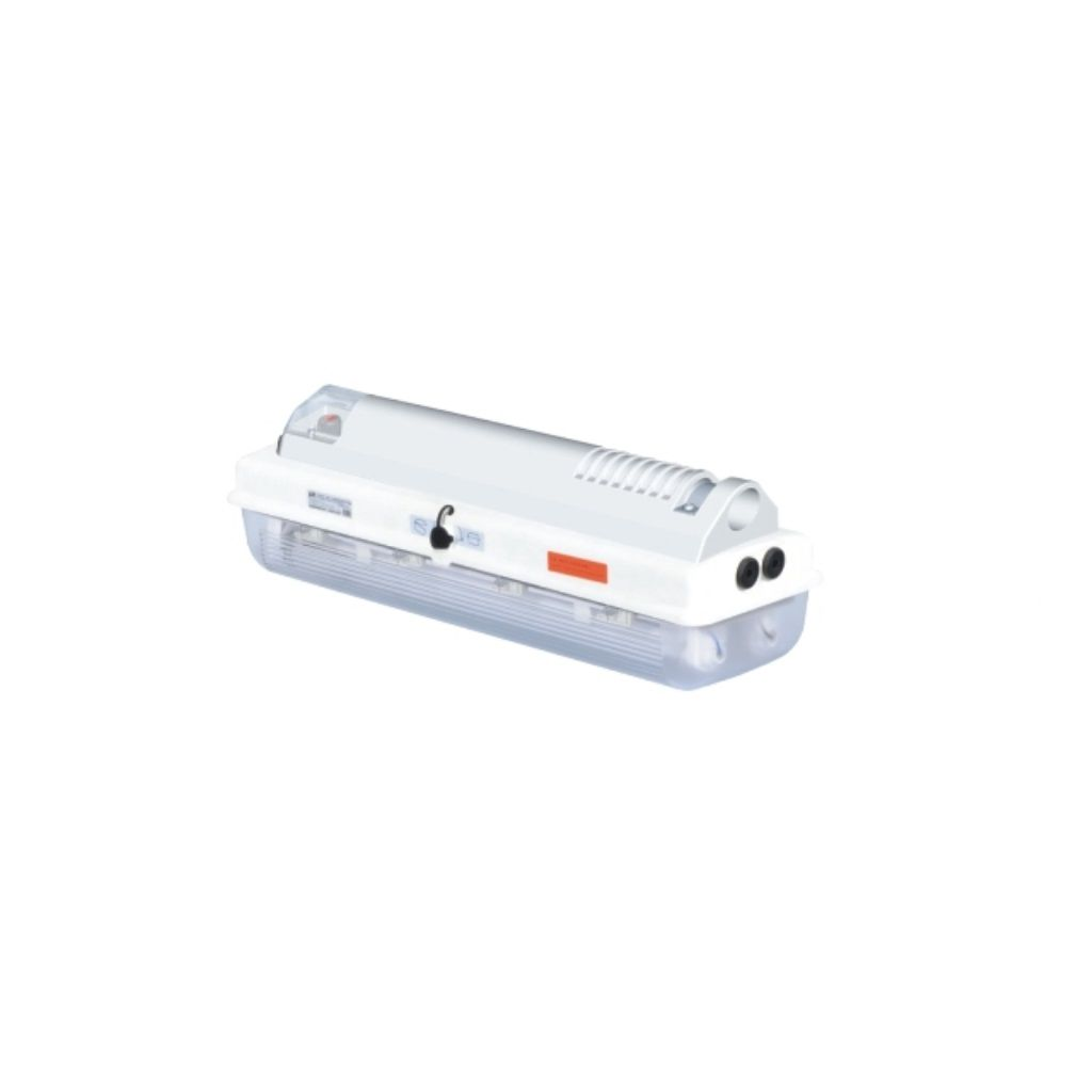 Tamamı plastik exproof LED floresan aydınlatma armatürleri (direk montajı)
