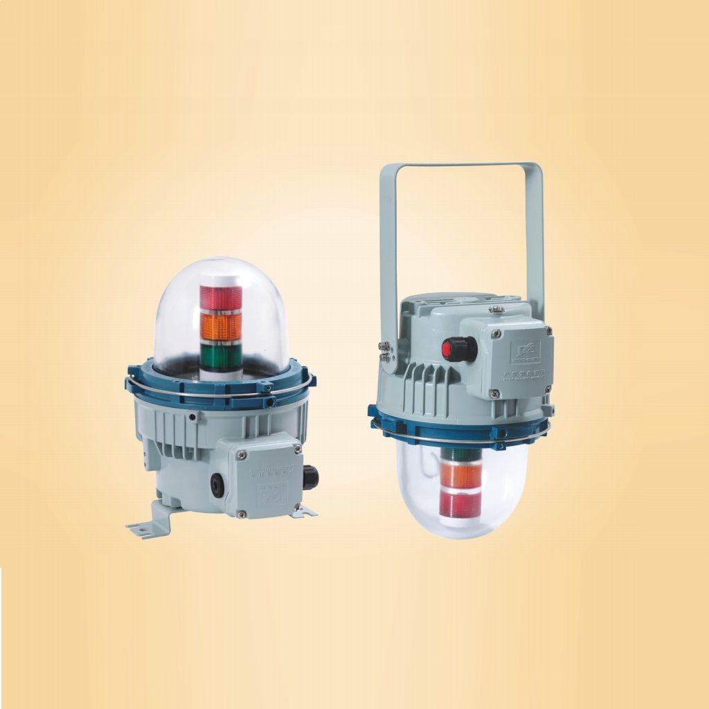 LED exproof sinyal kule lambası armatürleri