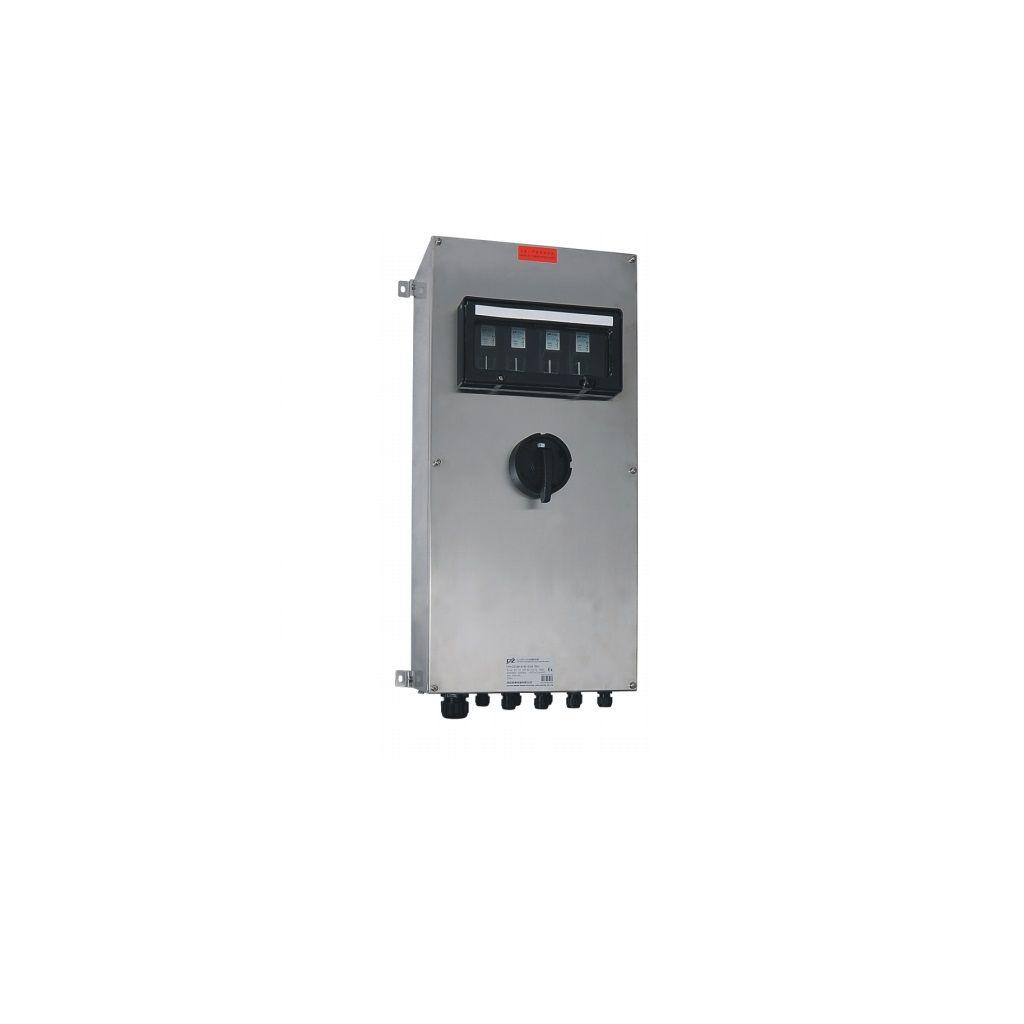 Exproof dağıtım kutuları (elektrik kaçağı koruması ile)