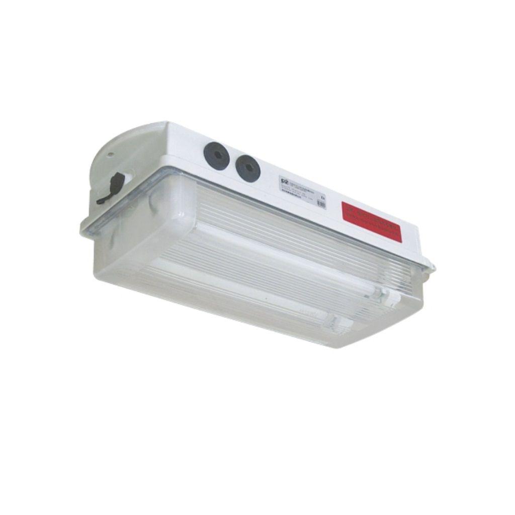 Tamamı plastik exproof acil durum aydınlatma armatürleri