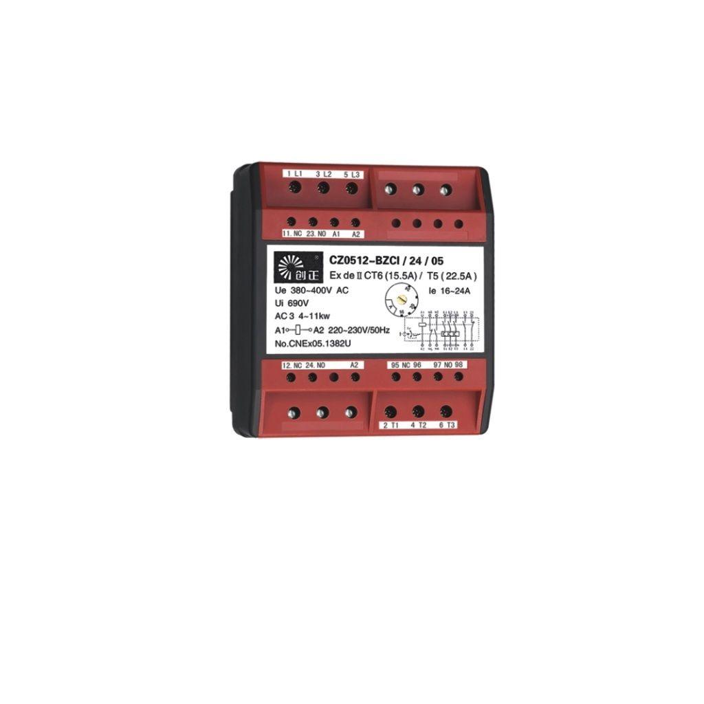 Exproof manyetik starter modülü ( AC kontaktör + termoröle)
