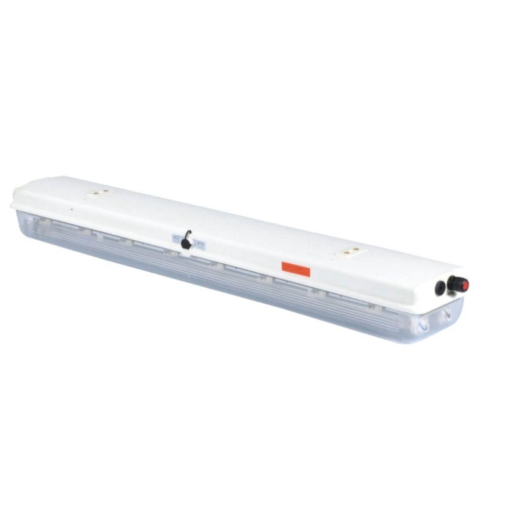Tamamı plastik exproof acil durum floresan aydınlatma armatürleri