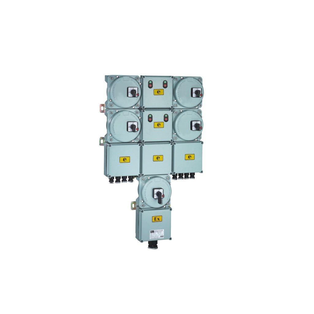 Exproof güç dağıtım kutuları (elektromanyetik başlangıçlı)