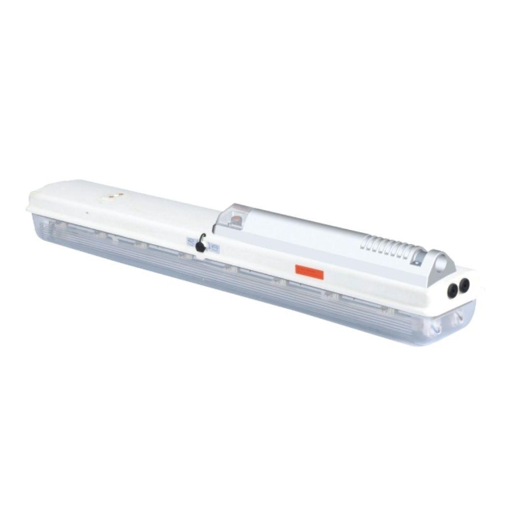 Tamamı plastik exproof floresan aydınlatma armatürleri (direk montajı)