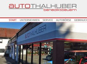 Alles neu im Autohaus Thalhuber