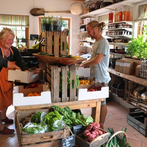 Ändebols gård –  gårdsbutik och kafé