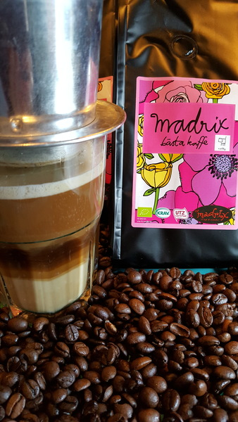 Café Madrix - Choklad Te & Kaffebod