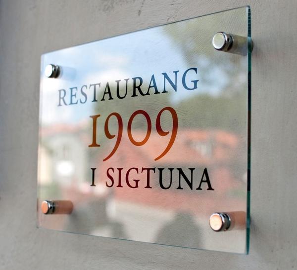 Restaurang 1909 i Sigtuna