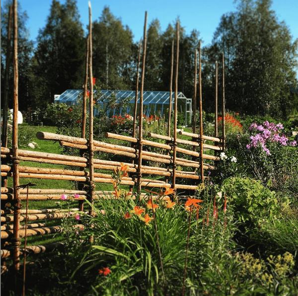 Presteles trädgårdscafé