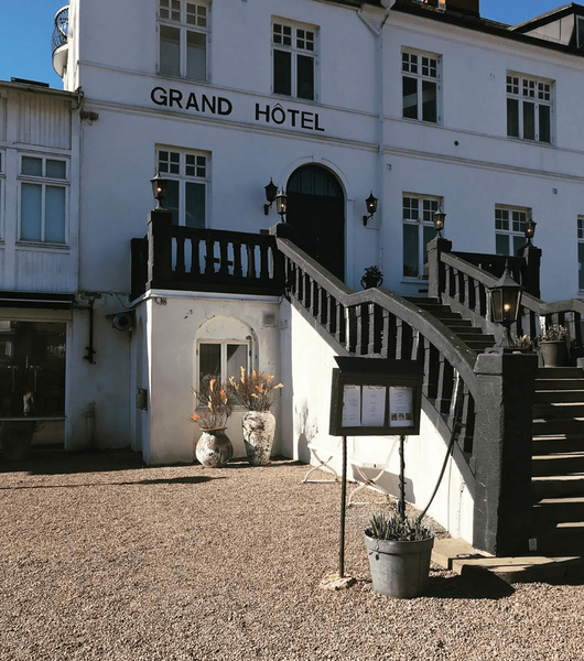Maritime Grand Hôtel i Mölle