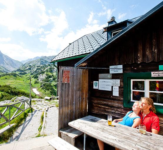 Kombiticket Voisthaler Hütte