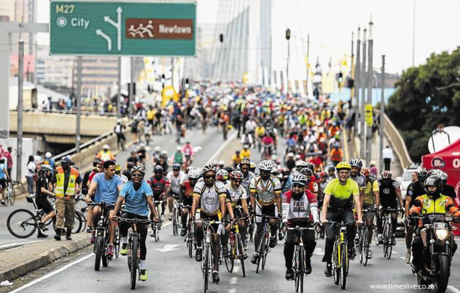 Freedom Ride: Raising awarness of bicycles as a form of transport and recreation.