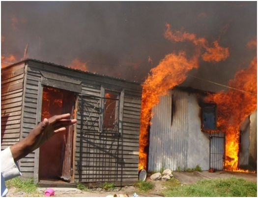 Dangers of house fires in Gauteng