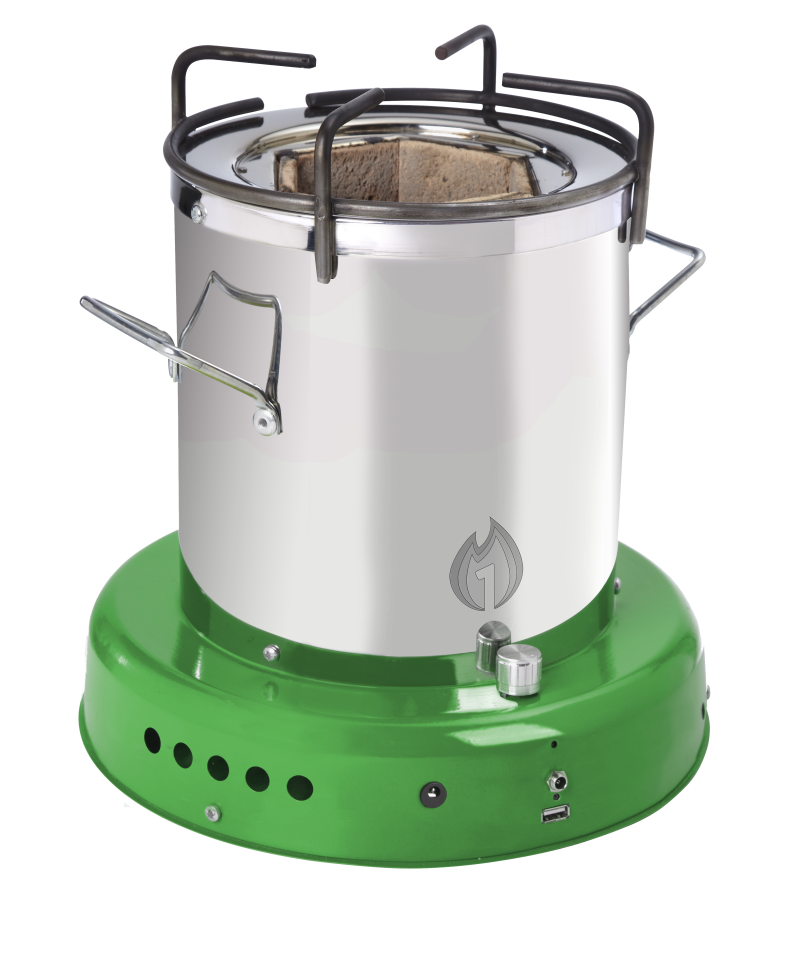 African Clean Energy Stove green