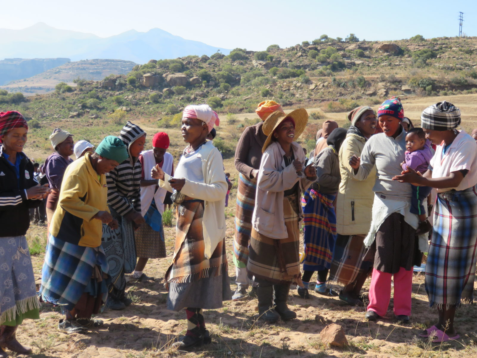 Drought Relief: Hamone's 150 Families