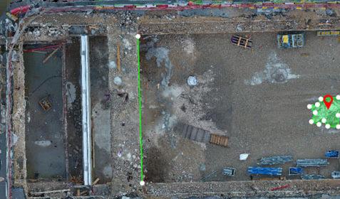 Suivi de chantier Tramway T3 et outil de mesure