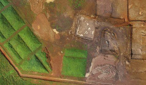 Suivi de chantier vu par drone
