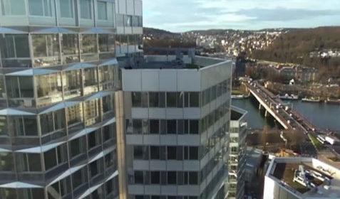 Vidéo promotionnelle de bâtiments tertiaires