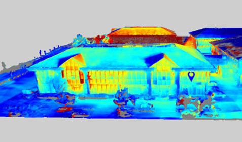 Inspection thermographique de bâtiments tertiaires